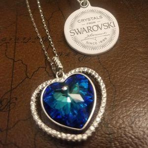 Jewelry - Sterling silver chain, heart pendant bundle!